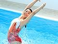 E-BODY史上最高経歴アスリート!! 欧州シンクロ大会メダリストが緊急AVデビューハーフGカップ美少女 白木エレン