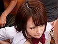 制服巨乳少女が標的にされた乳揉み痴漢電車 伊藤舞雪