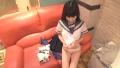色白美巨乳スレンダー美少女のえみちゃん、制服ハメ撮り初体験!