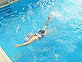 競泳水着で隠れているけどわたし実は巨乳なんです!!現役女子大生隠れボイン水泳部員井上愛唯ちゃんE-BODY専属デビュー