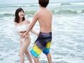 新婚旅行NTR 夫と思い出のビーチで愛を育んでいたら昔ナンパされたチャラ男に寝取られた巨乳人妻 奥田咲