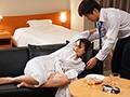 出張先のビジネスホテルでずっと憧れていた女上司とまさかまさかの相部屋宿泊 向井藍