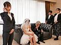 結婚式直前から式の終りまで…新婦の目を盗んで新郎を誘い寝取る美人ウエディングプランナー 天使もえ2