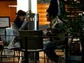 盗撮リアルドキュメント!密着120日、小島みなみのプライベートを激撮し、行きつけのカフェで知り合ったイケメンナンパ師に引っ掛かって、SEXまでしちゃった一部始終